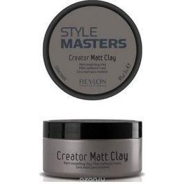Revlon Professional SM Глина моделирующая для волос Creator Matt Clay 85 мл