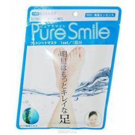 Pure Smile Питательная маска для ступней с эссенцией морских водорослей 18г