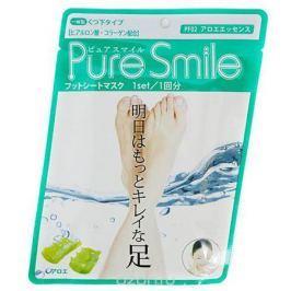 Pure Smile Питательная маска для ступней с эссенцией алоэ 18г
