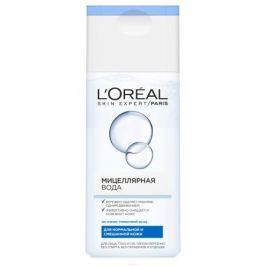 L'Oreal Paris Мицеллярная вода для снятия макияжа, для нормальной и смешанной кожи, гипоаллергенно, 200 мл
