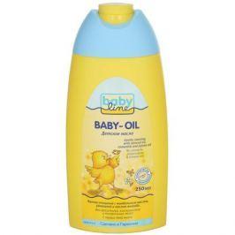 BabyLine Масло детское, с миндальным маслом, ромашкой и маслом жожоба, 250 мл