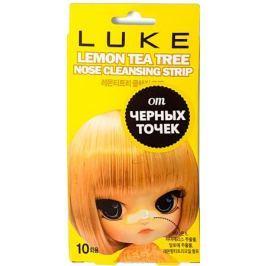 Luke Очищающие полоски от черных точек с экстрактом лимона и чайного дерева