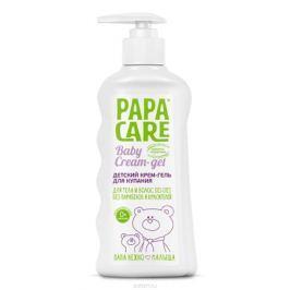 Papa Care Детский крем-гель для купания с помпой 250 мл