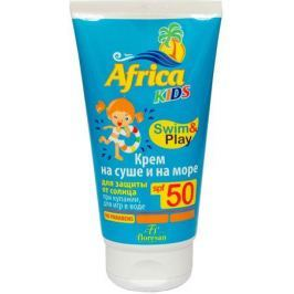 Floresan Africa Kids Крем солнцезащитный на суше и на море SPF 50, 150 мл