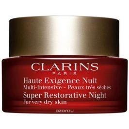 Clarins Восстанавливающий ночной крем интенсивного действия для сухой кожи Multi-Intensive, 50 мл