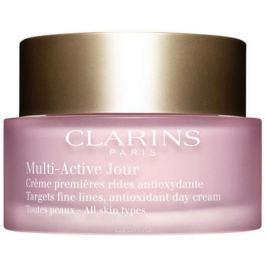 Clarins Дневной крем для предотвращения первых возрастных изменений с антиоксидантным действием для любого типа кожи Multi-Active, 50 мл