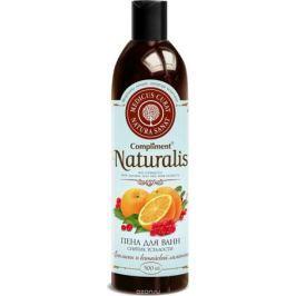 Compliment Натуралис Пена для ванн для снятия усталости Апельсин и китайский лимонник, 500 мл