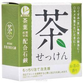 Clover Мыло туалетное для лица с зеленым чаем Clover, 80 г