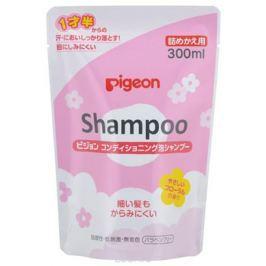 PIGEON Шампунь-пенка для детей 18+ мес, сменный блок 300 мл