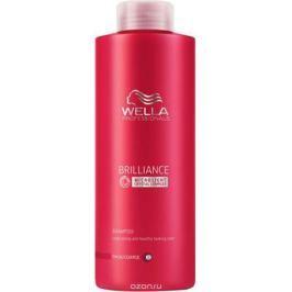 Wella Brilliance Line Шампунь для окрашенных жестких волос 1000 мл