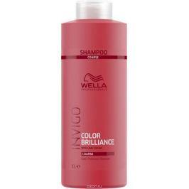 Wella Invigo Color Brilliance Шампунь для защиты цвета окрашенных жестких волос, 1 л