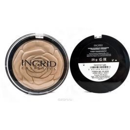 Verona Products Professional Ingrid CosmeticsКомпактная пудра HD Beauty Innovation Матовая кожа, цвет: прозрачный, 25 г