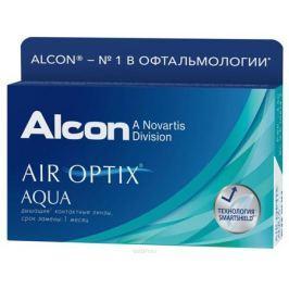 Alcon-CIBA Vision контактные линзы Air Optix Aqua (3шт / 8.6 / 14.20 / -6.00)