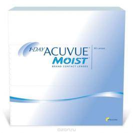 Johnson & Johnson контактные линзы 1-Day Acuvue Moist (90шт / 9.0 / -1.75)