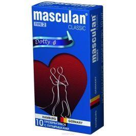 Masculan Презервативы 2 Classic №10, с пупырышками