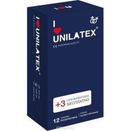 Презервативы Unilatex Extra Strong, 12 шт. + 3 шт. в подарок