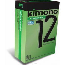 Kimono презервативы контурные, 12 шт