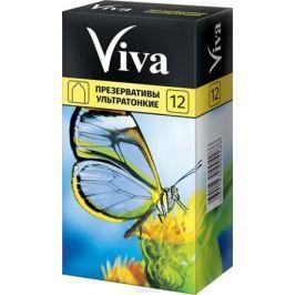 VIVA Презервативы Ультратонкие, 12 шт