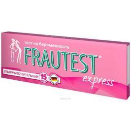 Frautest Тест на определение беременности Express, тест-полоска, 1 шт