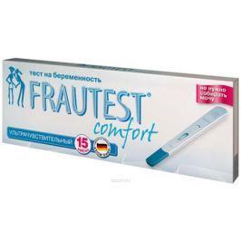 Frautest Тест на определение беременности Comfort, в кассете с колпачком, 1 шт