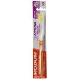 Modum Щетка зубная Modum 3-Action средней жесткости