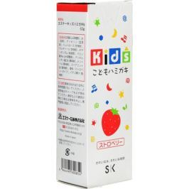 SK Kids Детская зубная паста, с ароматом клубники, 60 г