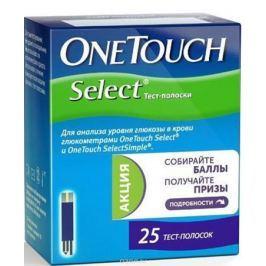 OneTouch Тест-полоски Select №25