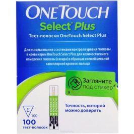 OneTouch Select Plus Тест-полоски №100