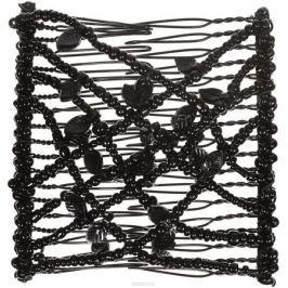 EZ-Combs Заколка Изи-Комбс, одинарная, цвет: черный. ЗИО_лист