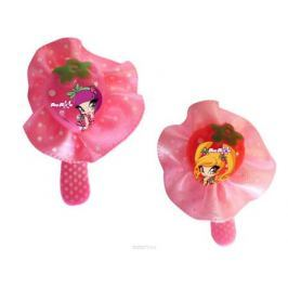 Заколка для волос для девочек PopPixie, цвет: розовый, 2 шт. 41315