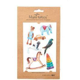 Miami Tattoos Акварельные переводные тату Miami Tattoos