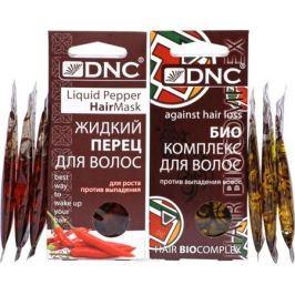 DNC Набор масел: Жидкий перец для волос, 15 мл, 3 шт + Биокомплекс против выпадения волос, 15 мл, 3 шт