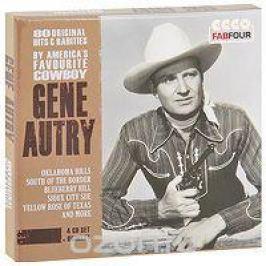 Джин Отри Gene Autry. 80 Original Hits & Rarities (4 CD)