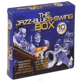 Фрэнк Синатра,Бинг Кросби,Билли Холидей,Элла Фитцжеральд,Дайна Вашингтон,Гленн Миллер,Луи Армстронг,Дюк Эллингтон,Нэт Кинг Коул,Рэй Чарльз The Jazz-Blues-Swing Box (10 CD)