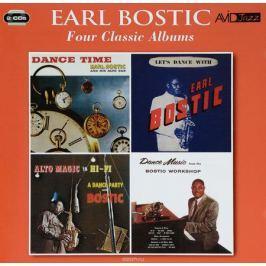 Эрл Бостик Avid Jazz. Earl Bostic. Four Classic Albums (2 CD)