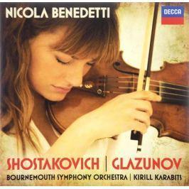 Никола Бенедетти,Кирилл Карабитс,Bournemouth Symphony Orchestra Shostakovich / Glazunov / Nicola Benedetti. Violin Concertos