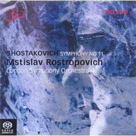 Мстислав Ростропович Mstislav Rostropovich. Shostakovich. Symphony No. 11 (SACD)