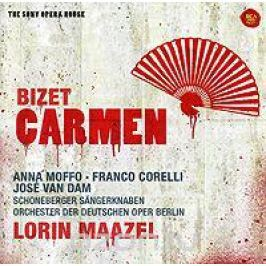 Хосе Ван Дам,Анна Моффо,Франко Корелли,Лорин Маазель,Orchester Des Deutschen Opernhauses Berlin Lorin Maazel. Bizet. Carmen (2 CD)