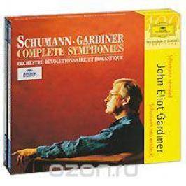 Джон Элиот Гардинер,Orchestre Revolutionnaire Et Romantique,Гавин Эдвардс,Сюзан Дэнт John Eliot Gardiner. Schumann. Complete Symphonies (3 CD)