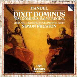Choir And Orchestra Of Westminster Abbey,Саймон Престон Simon Preston. Handel. Dixit Dominus / Nisi Dominus / Salve Regina