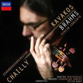 Леонидас Кавакос,Peter Nagy Leonidas Kavakos, Peter Nagy. Brahms / Bartok. Violin Concerto