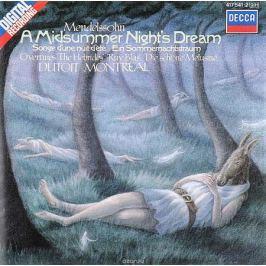 L'Orchestre Symphonique De Montreal,Шарль Дютуа Charles Dutoit. Mendelssohn. A Midsummer Night's Dream / Overture