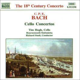 Тим Хью,Хидэми Судзуки,Bournemouth Sinfonietta,Ричард Студ C.P.E. Bach. Cello Concertos, Wq. 170-172