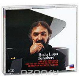 Раду Лупу Radu Lupu. Schubert. 9 Piano Sonatas / Moments Musicaux (4 CD)