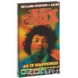 Джими Хендрикс Jimi Hendrix. As It Happened (4 CD)