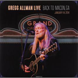 Грегг Оллмен Gregg Allman. Live: Back To Macon, GA (2 LP)