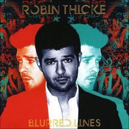 Робин Тике Robin Thicke. Blurred Lines