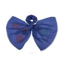 Палантин Модные истории, цвет: синий, голубой, розовый. 21/0399/180. Размер 180 см x 70 см