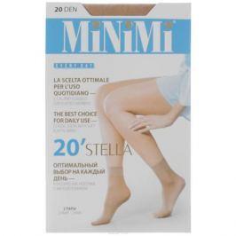 Носки женские Minimi Stella 20, 2 пары, цвет: Caramello (карамельный). Размер универсальный