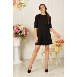 Платье Lautus, цвет: черный. 743. Размер 48